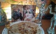 Parathas au chou-fleur