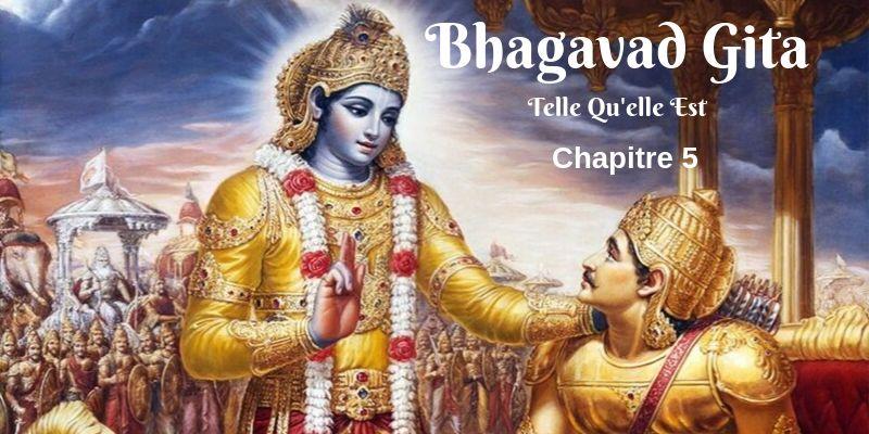 La Bhagavad Gita en audio chapitre 5